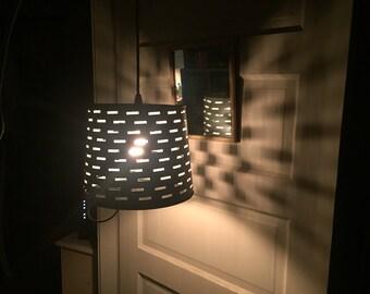 Olive Bucket Lamp