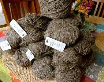 SALE Wool Yarn Medium Sheep Grey Worsted