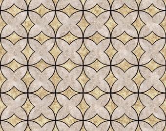 Instant Download Geometric Pattern Tile Digital Paper