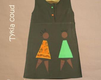 PROMOTION - Saga Africa - 4t girl dress