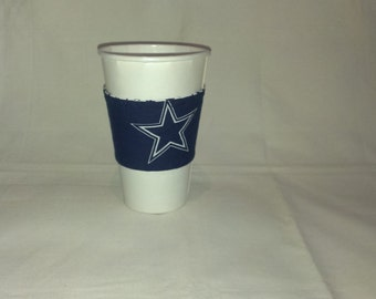 Dallas Cowboys Coffee Cup Cozy