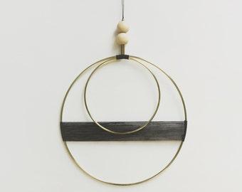 Double Circle Wall Hanging