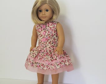 Pink Spring Party Dress   American Girl Doll
