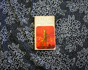 Nunquam by Lawrence Durrell 1971 rare paperback edition. Rare fantasy sci fi novel.