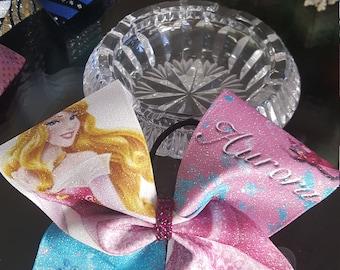 Disney Princess Aurora Cheer Bow