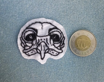Owl Skull Patch