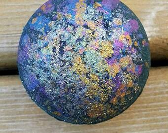 Galaxy Bath Bomb, Intergalactic bath bomb, glitter bomb