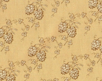 Andover Fabrics - Jo Morton Toast Series - Tan Print - 5199L - Three Piece Scrap Bundle
