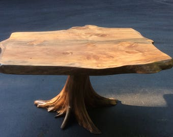 Rustic Dining Table, Dining Table, Conference Table, Stump Table, Live Edge Table, Rustic Table, Slab Table, Office Table, Elegant Table