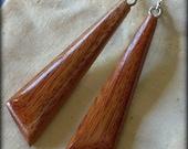 Wooden Chisel Earrings - ...