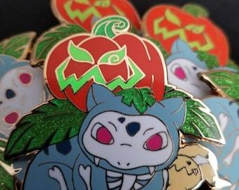 Halloween Bulbasaur/Ivysaur Enamel Lapel Pin