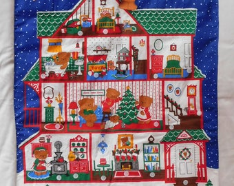 A Beary Merry Christmas advent calendar FINISHED with bear