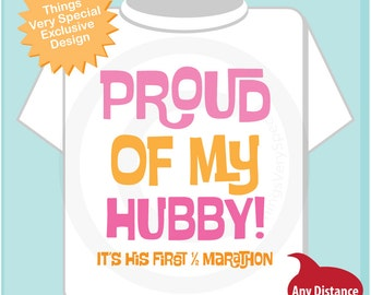 Proud of my Hubby, It's his first 1/2 marathon t shirt 02022016a