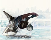 Orca Painting - Print fro...