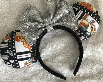 Inspired Bambi & Thumper Minnie / Mickey Mouse Ears