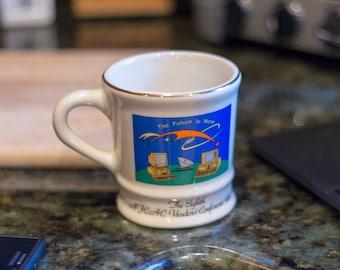 1989 FUTURE IS NOW Computer Mug Ceramic