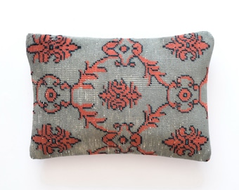 "Kilim pillow Kelim kissen turkish cushion kussenhoes 14x20 pillow coussin bohème 20"" pillow cover cuscini 35x50"