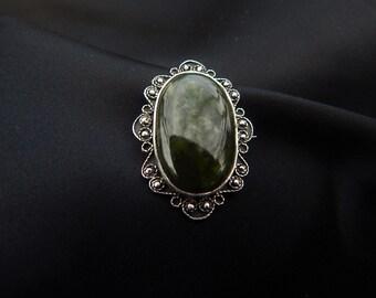 Victorian vintage filigree brooch