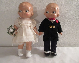 Horsman Campell's Kid Special Limited Edition Bride and Groom Millennium
