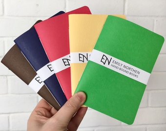 Handmade pocket notebooks