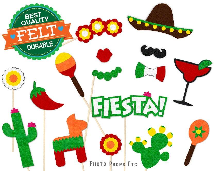 Greatest Cinco de Mayo Photo Booth Props Mexico Photobooth Fiesta XX42