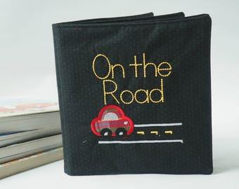 Cloth Book for Boy - Baby Boy Gift - Kids Soft Book - Children's Books - Kids Truck Book - Soft baby Book - Cloth Baby Book - Birthday Gift