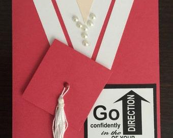 Graduation, Cards, Elegant, Handmade, Beautiful