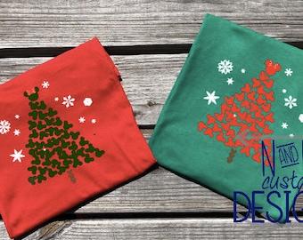 Disney Family Shirts, Disney Christmas Shirt. Disney Holiday, Mickey, Minnie, Matching Christmas Disney Shirts