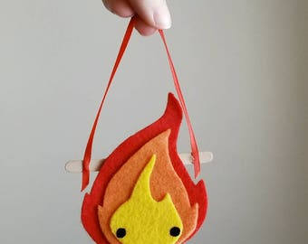 Itty Bitty Banner: Fire Demon