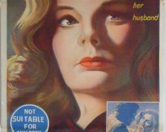 Home Before Dark - 1958 - Original Australian daybill movie poster - Jean Simmons
