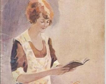 """Rare 1920's """"F.W. McNess' Cook Book"""""""