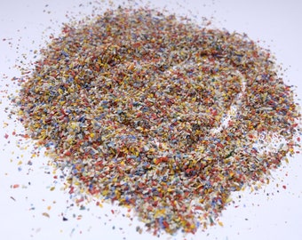 Crushed Glass Etsy