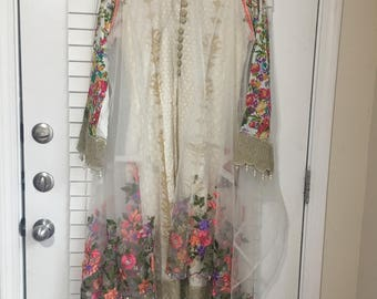 Latest Stitched Lawn Collection