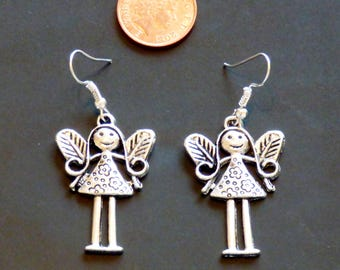 Silver plated Fairy Earrings