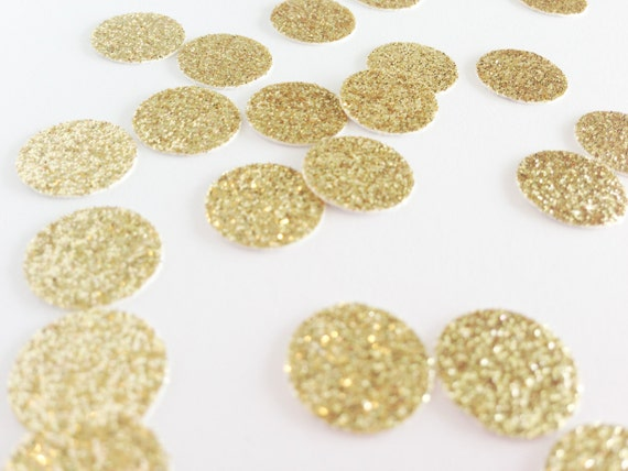 "Gold Glitter Circle Confetti - 1/2"" Gold Confetti. Wedding Confetti. Bachelorette. Bridal Shower. Engagement Party. Baby Shower. Birthday."