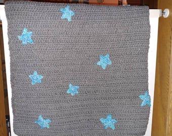 Stary night baby blanket