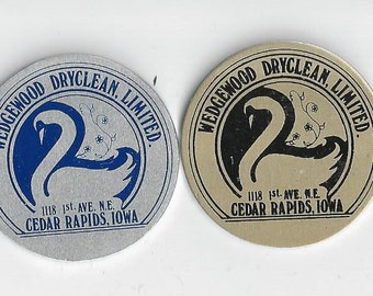 2 Wedgewood DryClean LImited Tokens Cedar Rapids Iowa