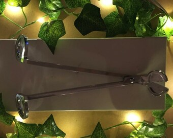 Candle Accessories - Wick Trimming Scissors & Candle Snuffer