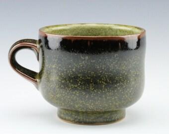 Tea Dust Glazed Ceramic Mug, 11 oz.