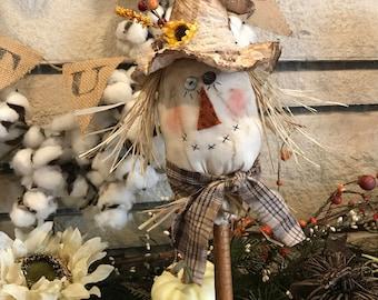 Primitive Scarecrow Head Make-Do
