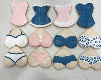 Lingerie Cookie Set (1 Dozen)