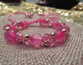 Pink bracelet for girls