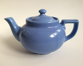 Small blue periwinkle Hall teapot