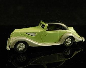 Vintage Toys, Collectible, Miniatur Praliné Car, H0, BMW 327 Cabriolet, W. Germany / Vintage Praliné Car / Mans gift