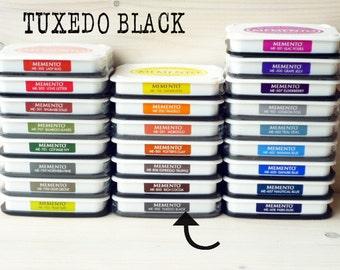 Large MEMENTO  raised dye ink pad TUXEDO BLACK
