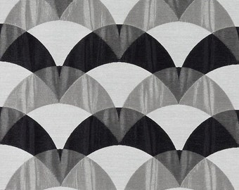 Black White Upholstery Fabric on Sale