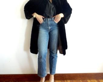 Vintage Fur Coat Womens