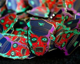 Bio-Cop Enamel Pin