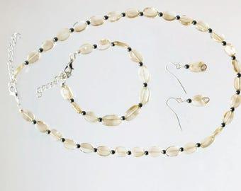 Citrine Jewelry Gift Set