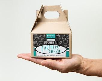 Mini DIY Farmers' Cheese Kit- 3-5 batches (cow milk)
